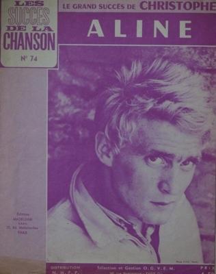 ALINE - Les succès de la chanson N°74 - Editions Madeleine N.M.P.P