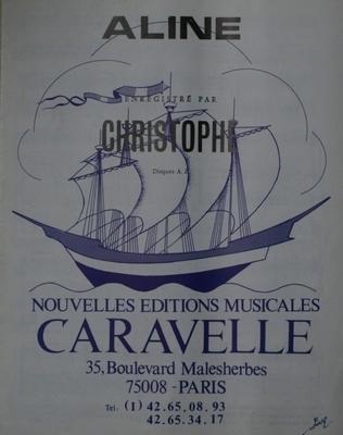 ALINE - Nouvelles Editions Musicales - CARAVELLE - E1065M