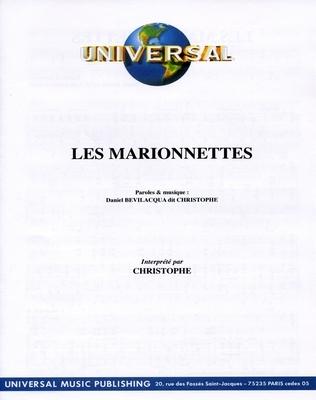 LES MARIONNETTES - Universal Music - E1074M