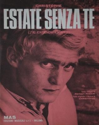 ESTATE SENZA TE - Copyright 1967 - MAS Edizioni musicali s.r.l MILANO ITALIE