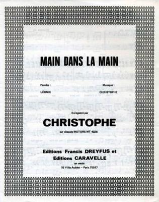 MAIN DANS LA MAIN - EF247 - Editions musicales Francis Dreyfus