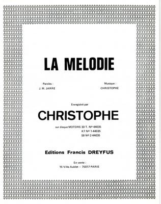 LA MELODIE - FD355 - Editions musicales Francis Dreyfus