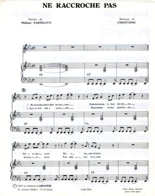 NE RACCROCHE PAS - LAB.9901 - Editions Labrador