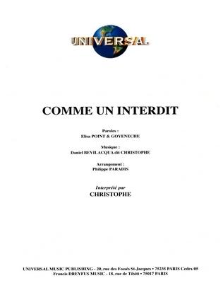 COMME UN INTERDIT - Universal Music - U.M.P. 3374