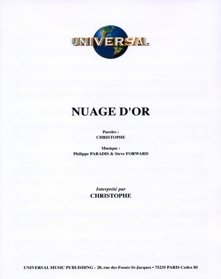NUAGE D'OR - Universal Music - U.M.P. 338