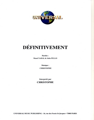 DEFINITIVEMENT - Universal Music - U.M.P. 11570