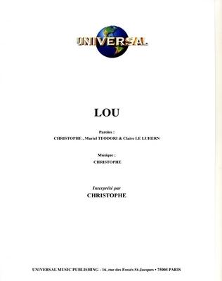 LOU - Universal Music - U.M.P. 11573