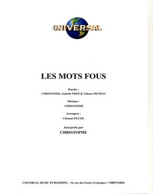 LES MOTS FOUS - Universal Music - U.M.P. 11576